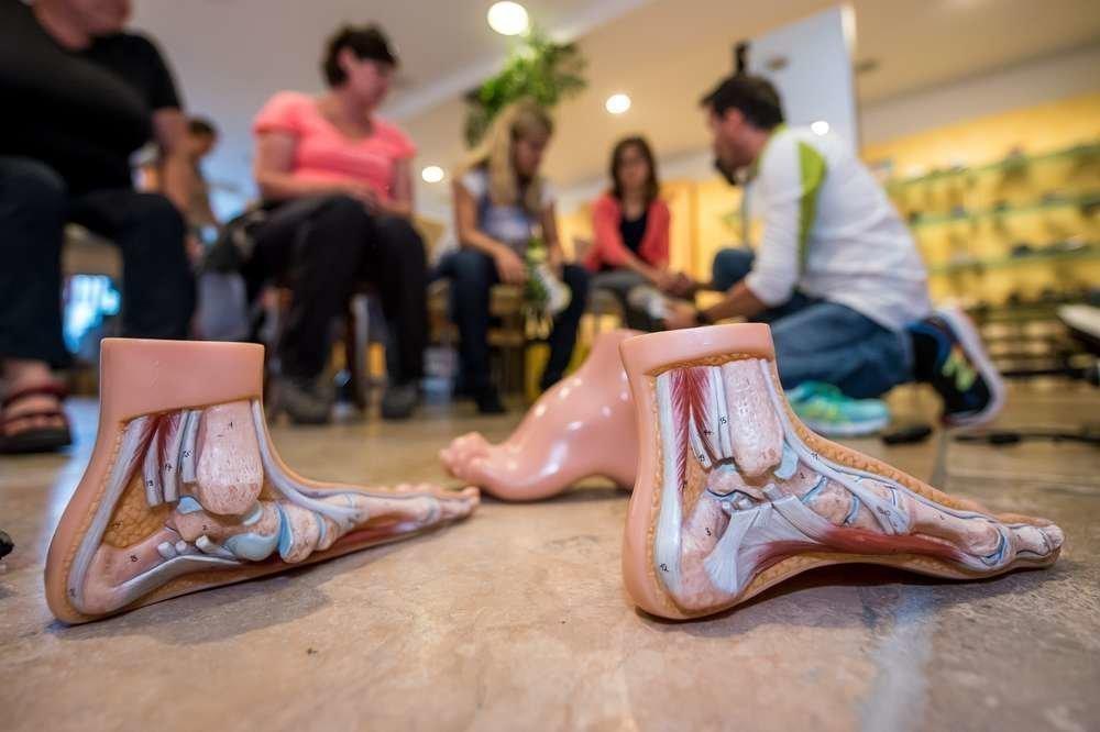Orthopädische Fußanalyse und richtige Ausrüstung