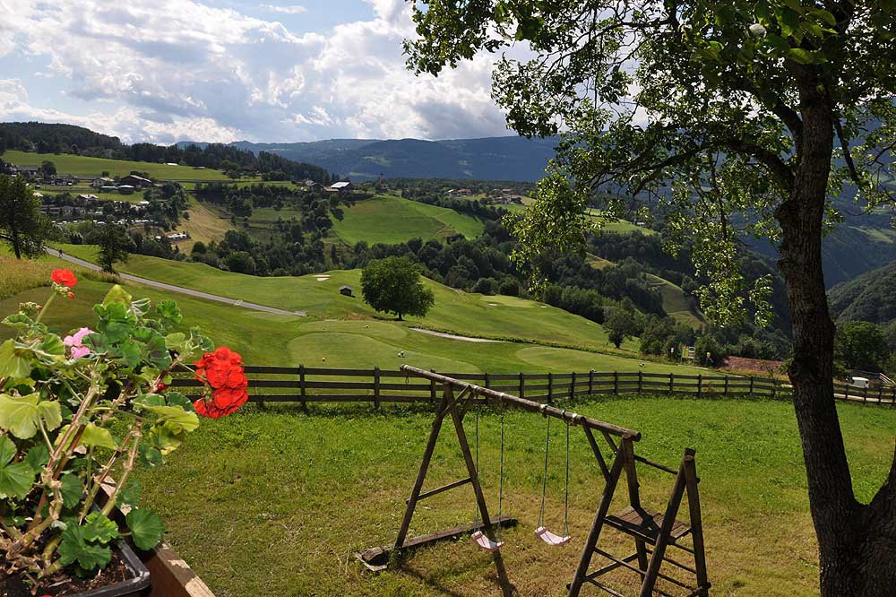 Erholsamer Bauernhofurlaub vor fantastischer Bergkulisse